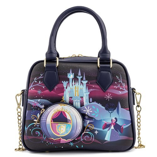 Cinderella Castle Series Crossbody Purse