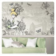 Tinker Bell Vintage XL Chair Rail Prepasted Mural
