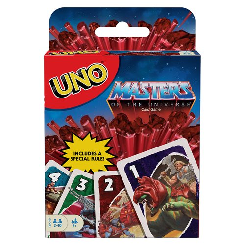 Masters of the Universe Origins UNO Game