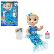 Baby Alive Shimmer 'n Splash Mermaid Doll - Blonde Hair
