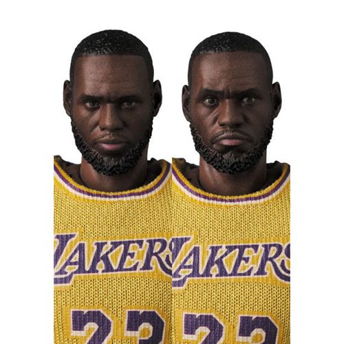 LeBron James Los Angeles Lakers MAFEX Action Figure