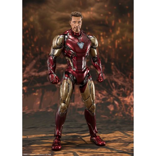 Avengers: Endgame Iron Man Mark 85 Final Battle Edition SH Figuarts Action Figure