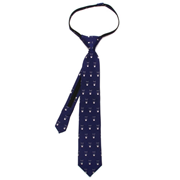 Batman Cowl Boys Zipper Silk Tie
