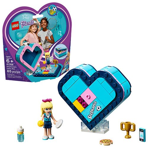 LEGO 41356 Friends Stephanie's Heart Box