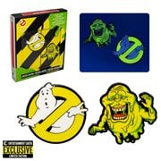 Ghostbusters Glow-in-the-Dark Pin Set of 2 - Entertainment Earth Exclusive