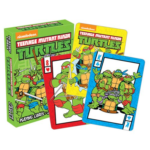 Teenage Mutant Ninja Turtles Retro Playing Cards