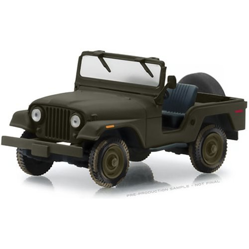 The A-Team 1983 Jeep CJ-5 1:43 Scale Die Cast Metal Vehicle