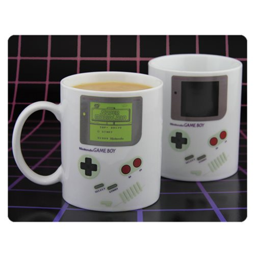 Nintendo Game Boy Heat Change Mug