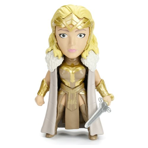 Wonder Woman Movie Queen Hippolyta 4-inch Metals Die-Cast Metal Action Figure, Not Mint