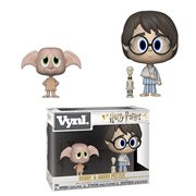 Harry Potter Dobby and Harry Vynl. Figure 2-Pack