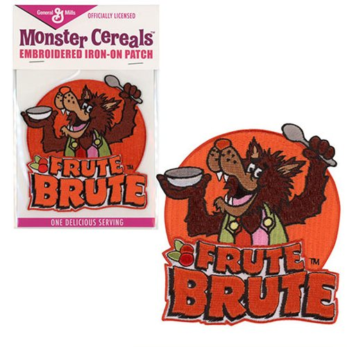 General Mills Frute Brute Embroidered Iron-On Patch