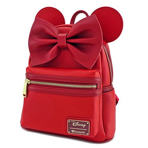 2b0d5badf4f Minnie Mouse Red Ears Mini Backpack - Entertainment Earth