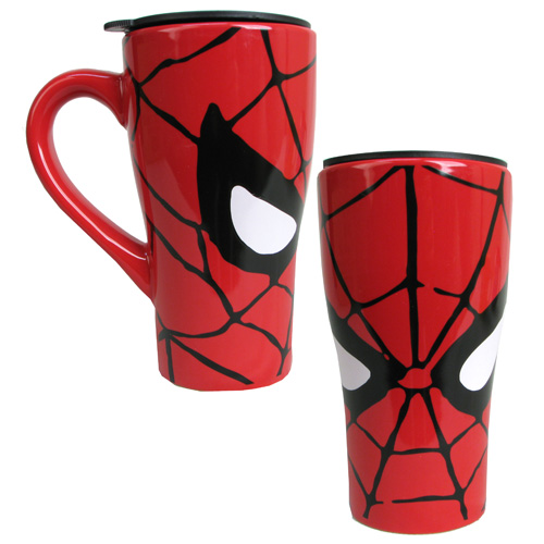 Spider-Man Face 18 oz. Ceramic Travel Mug
