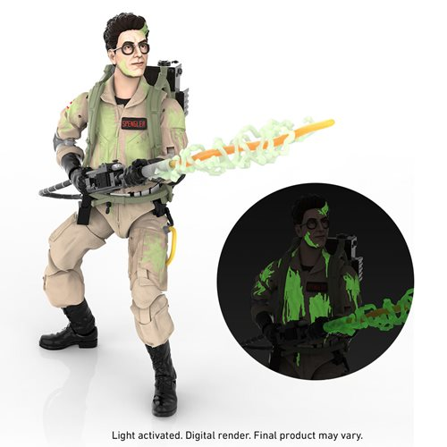 Ghostbusters Glow-in-the-Dark Egon Spengler Action Figure