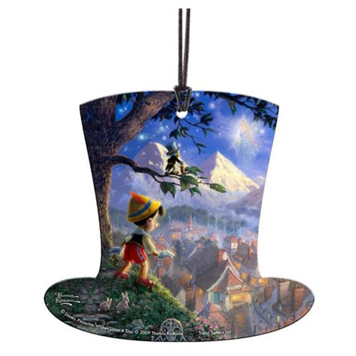 Disney Pinocchio Wishes upon a Star Hanging Acrylic Print