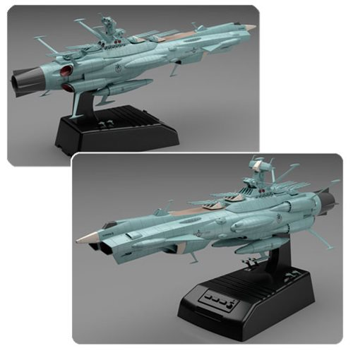 Space Battleship Yamato Andromeda Movie Effect Version 1:1000 Scale Model Kit