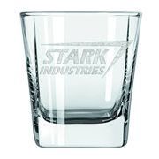 Iron Man Stark Industries Laser Etched Glass Tumbler 2-Pack - Previews Exclusive