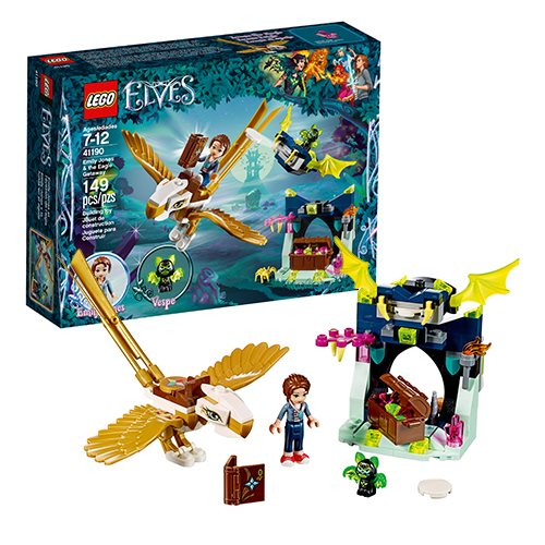 LEGO Elves 41190 Emily Jones and the Eagle Getaway