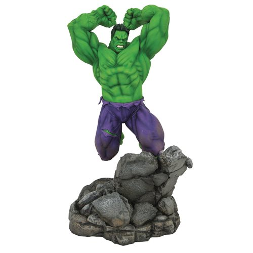 Marvel Premier Comic Collection Hulk Statue
