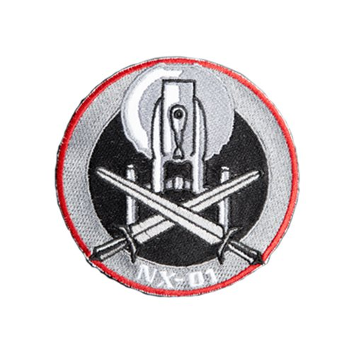 Star Trek Enterprise NX-01 Crossed Swords Patch