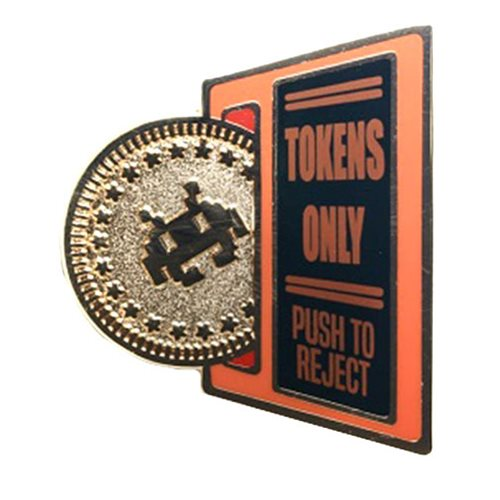 Tokens Only Enamel Pin