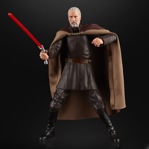 Star Wars The Black Series Count Dooku 6-Inch Action Figure, Not Mint