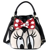 Disney Minnie Mouse Closeup Bucket Purse
