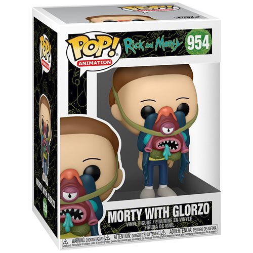 Rick and Morty Morty with Glorzo Pop! Vinyl Figure