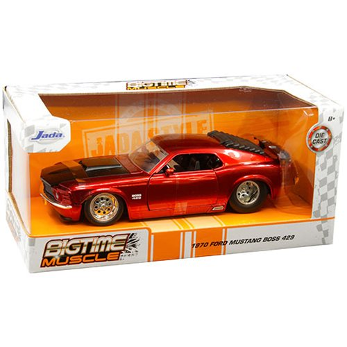 Bigtime Muscle Ford 1970 Mustang Boss 429 Red 1:24 Scale Die-Cast Vehicle