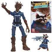Marvel Legends Series Groot and Rocket Raccoon Comic Action Figures 2-Pack