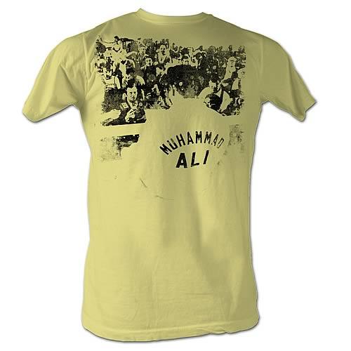 Muhammad Ali Ringside Yellow T-Shirt - Entertainment Earth