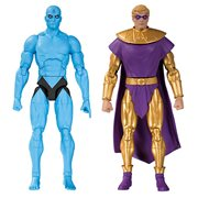 Watchmen Doomsday Clock: Dr. Manhattan Ozymandias Action Figure 2-Pack