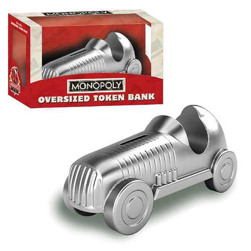 Monopoly Car Oversized Token Bank
