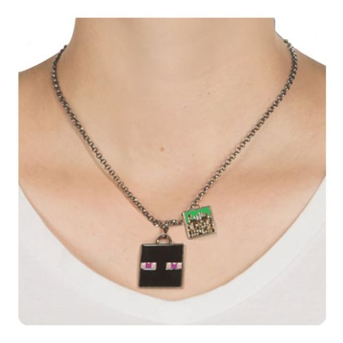 Minecraft Enderman Necklace