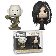 Harry Potter Bellatrix and Voldemort Vynl. Figure 2-Pack