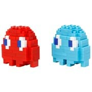 Pac-Man Blinky and Inky Nanoblock Constructible Figures