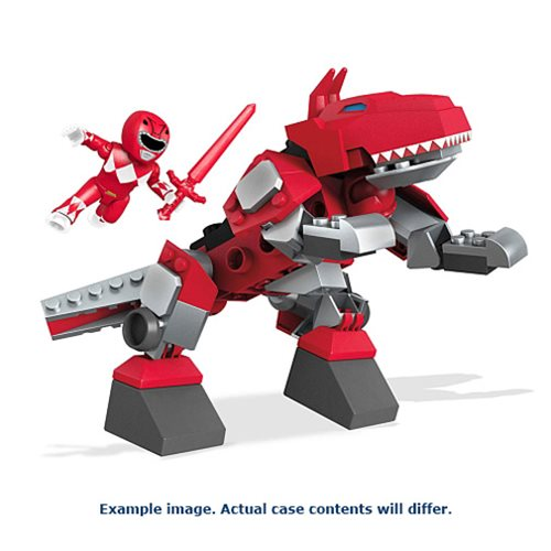 Mega Construx MMPR Zords Playsets Case