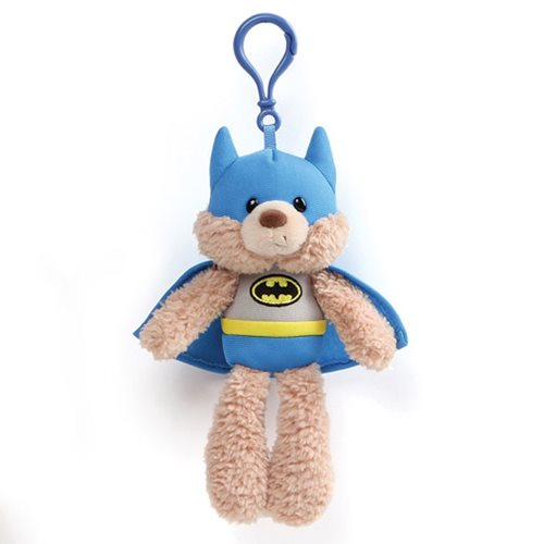 DC Comics Batman Blue Clip-On Backpack Plush