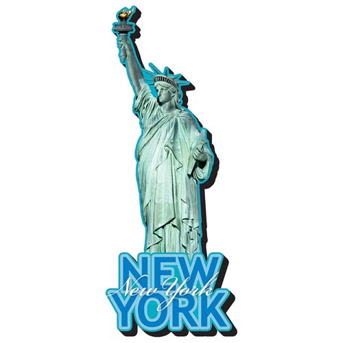 Statue of Liberty Funky Chunky Magnet