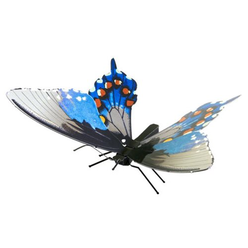 Pipevine Swallowtail Butterfly Metal Earth Model Kit