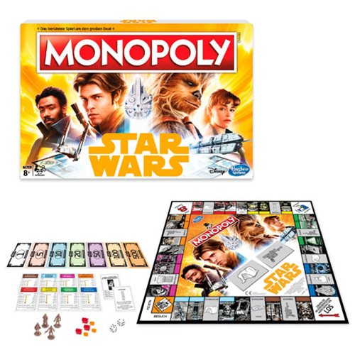 Star Wars Solo Monopoly Game