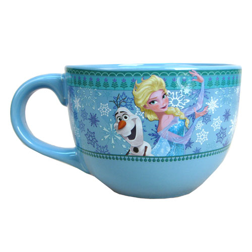 Disney Frozen Olaf and Elsa 24 oz. Soup Mug
