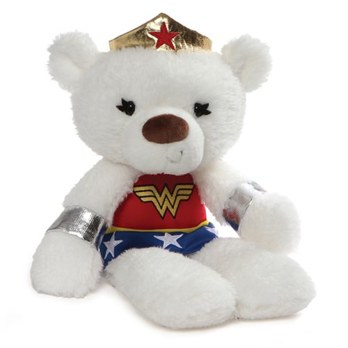 DC Comics Wonder Woman Fuzzy 14-Inch Plush