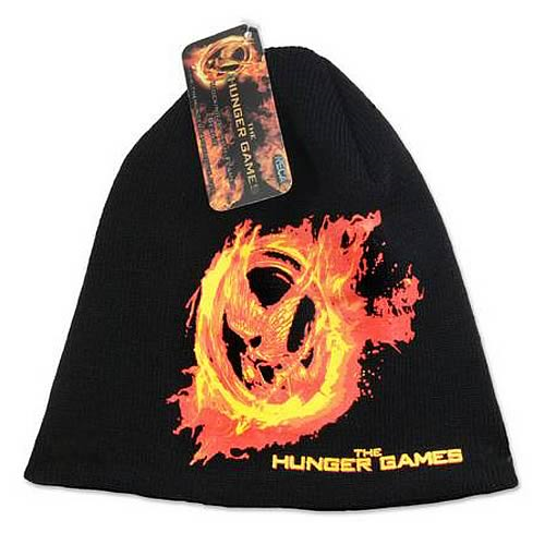 Hunger Games Movie Burning Mockingjay Beanie Hat