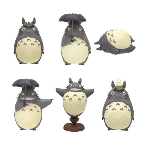 My Neighbor Totoro So Many Poses! Totoro Mini-Figure Case
