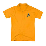 Star Trek Embroidered Command Patch Polo T-Shirt