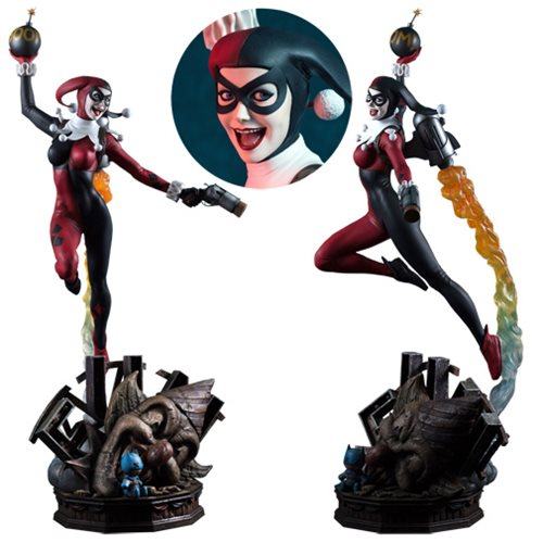 DC Super Powers Collection Harley Quinn Maquette Statue