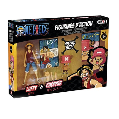 One Piece Luffy and Chopper 5-Inch Action Figures
