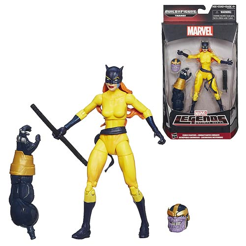 Marvel Legends Hellcat 6-Inch Figure, Not Mint