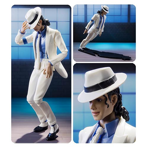 Michael Jackson Smooth Criminal SH Figuarts Action Figure
